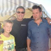Roger Vlaeminck et Nico Mattan