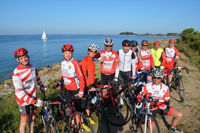 Le cyclo club en balade en bretagne